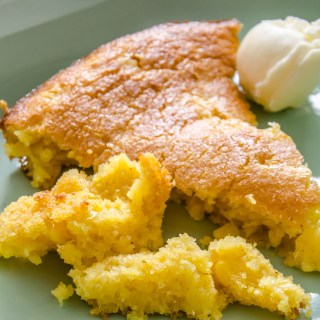 Not Your Sweet Mama's Skillet Corn Bread | LunaCafe