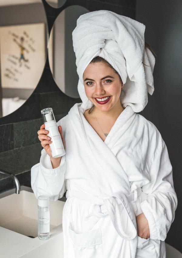 Nighttime Skincare Bathroom Routine