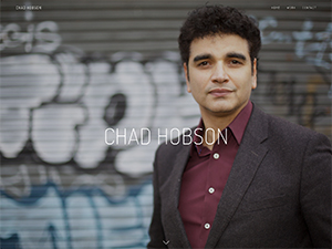 New site for composer Chad Hobson