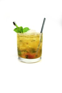 The sweet apricot jelly provides the perfect balance to the spicy Basil Hayden's bourbon