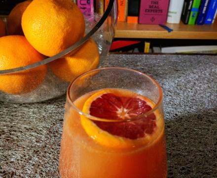 Bloody Great Blood Orange Cocktails