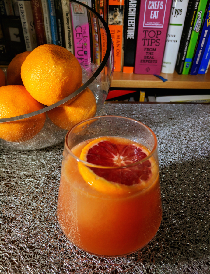 Bloody Great Blood Orange Cocktails