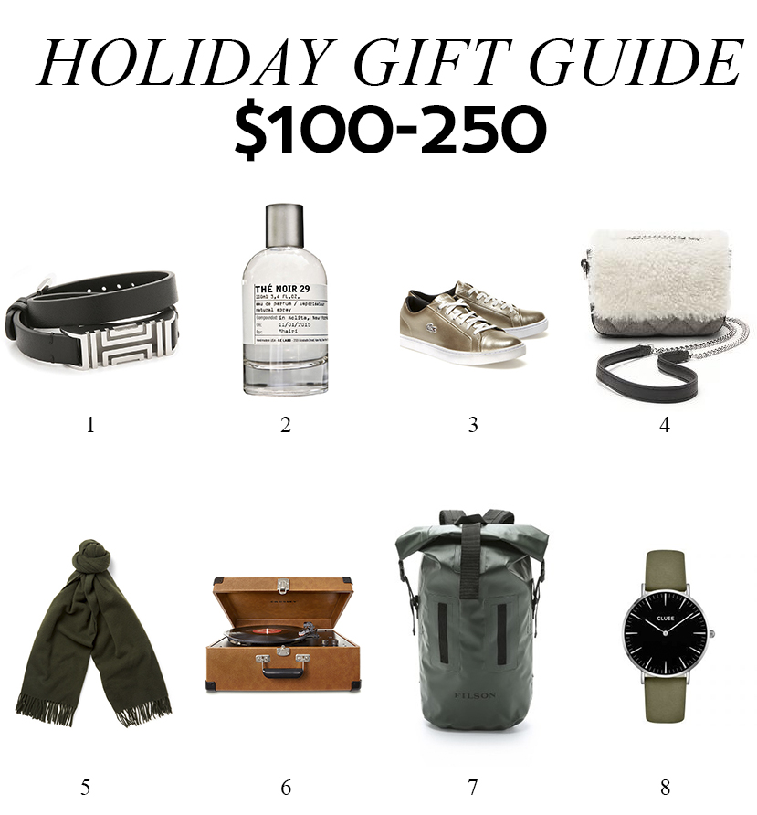 Holiday Gift Guide: $100-250