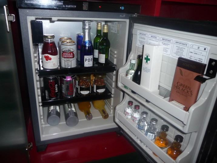 Sofitel St James - Prestige Suite minibar