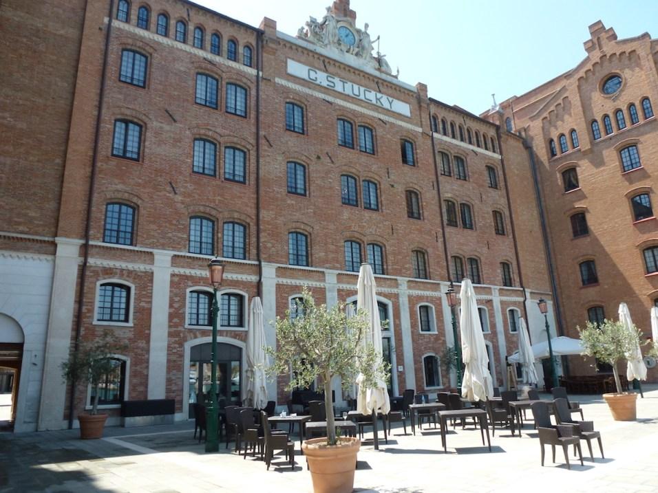 Hilton Molino Stucky - Facade