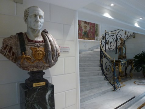 Rome Cavalieri - Stairs