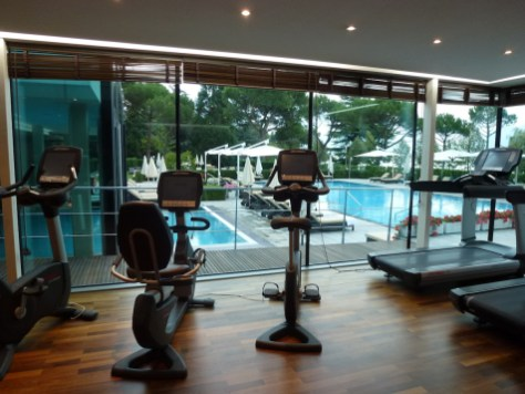 Beau-Rivage Palace - Fitness center