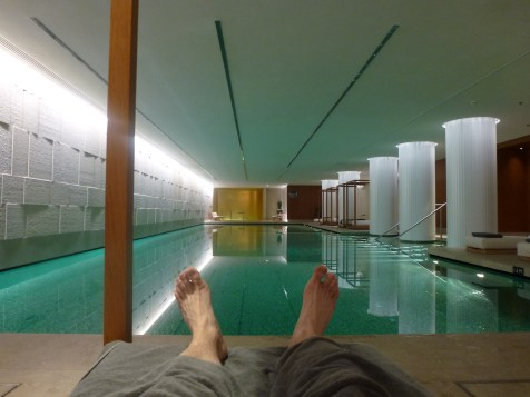Bulgari London - Spa pool