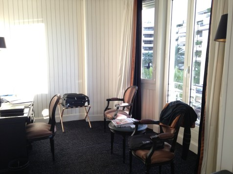 Majestic Barriere Cannes - Superior Room Sea View lounge