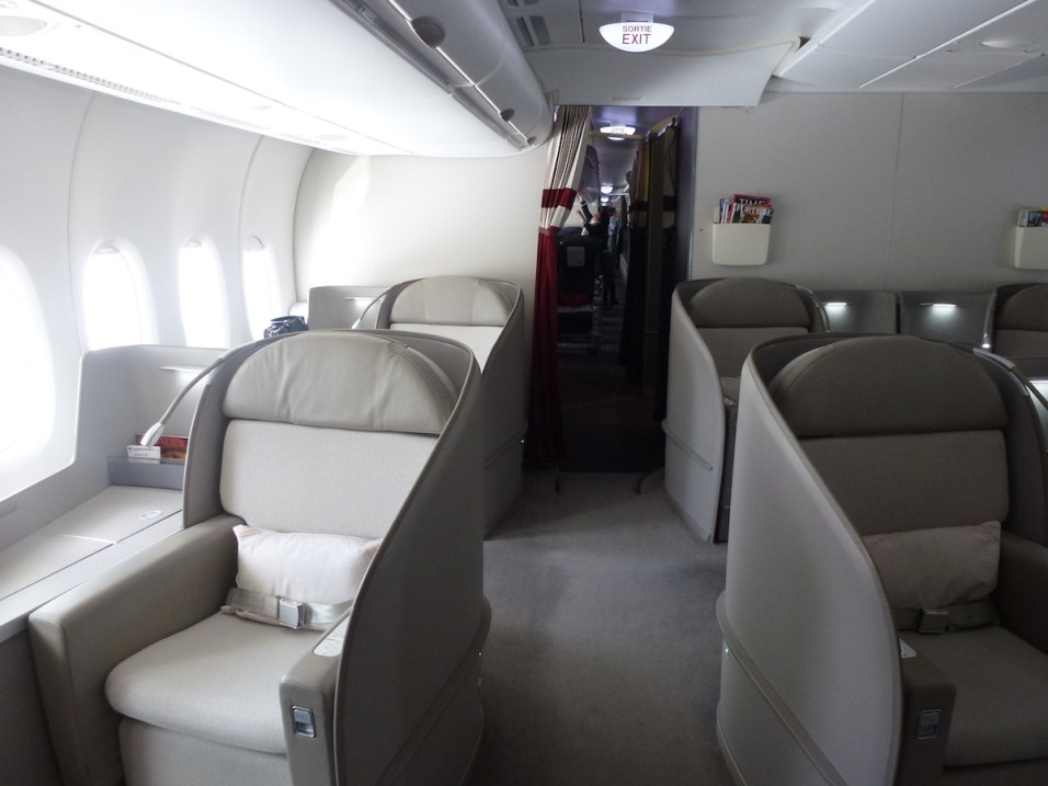 Air France First Class A380 - Cabin