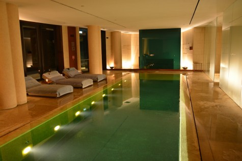 Bulgari Milan - Spa pool