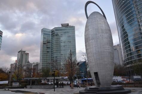 Seoul - Gangnam buildings
