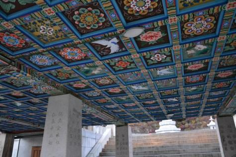 Bongeunsa temple basement