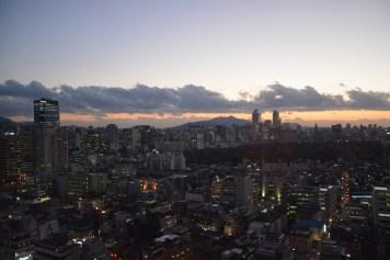 Seoul, Gangnam-gu by night