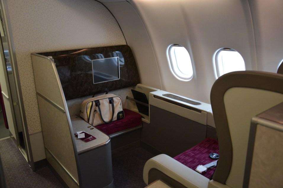 Qatar Airways First Class - Seat
