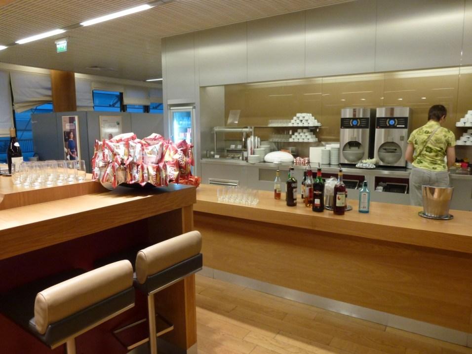 Air France Business Class lounge Paris - Snack