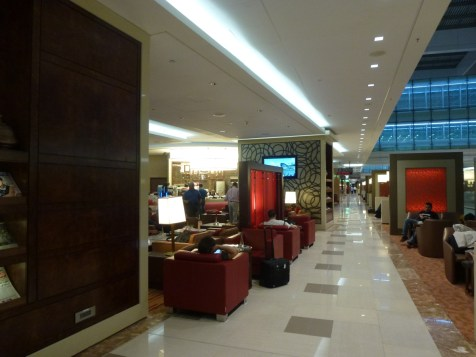 Emirates Business Class Lounge Dubai - Main lounge