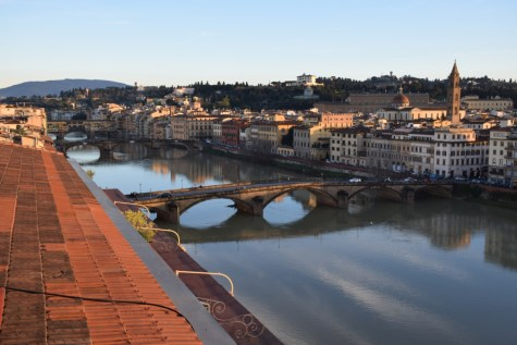 Florence - Arno river from Westin Excelsior