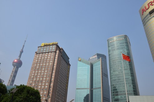 Pudong Shangri-La - Buildings