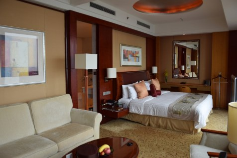 Pudong Shangri-La - Grand Tower Room - Living room
