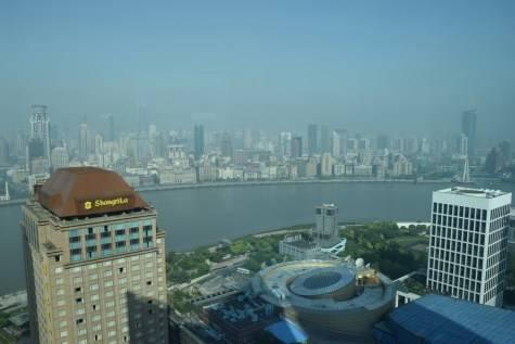 Pudong Shangri-La - Grand Tower Room - View over the Bund