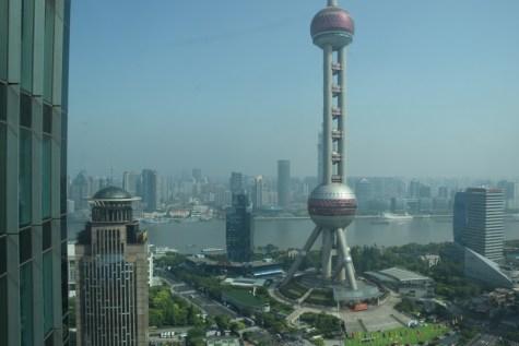 Pudong Shangri-La - Grand Tower - View from corridors