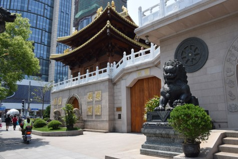 Shanghai - Jing'an Temple entrance