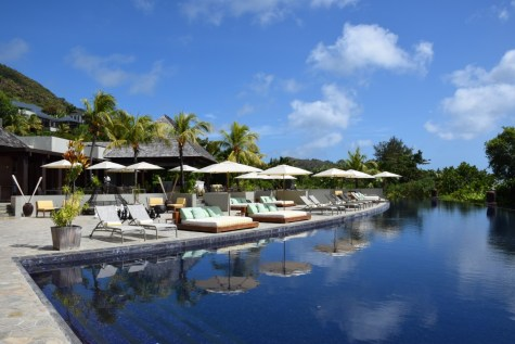 Raffles Praslin - Main pool