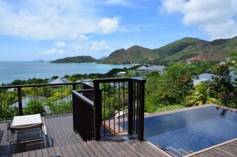 Raffles Praslin - Panoramic Villa terrace 4
