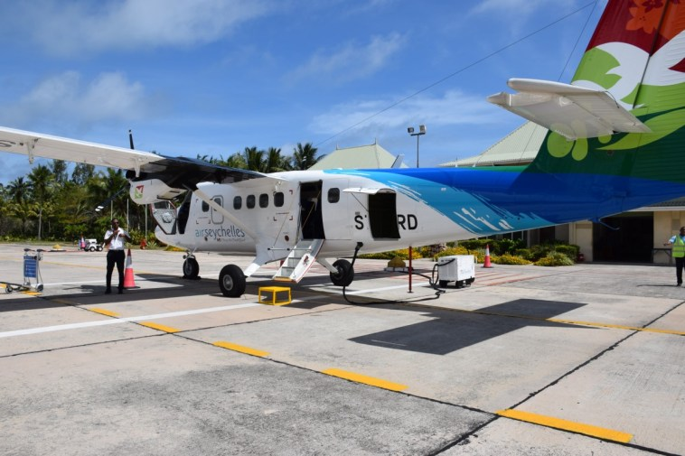 Seychelles - Domestic plane