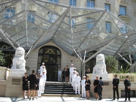 Peninsula Paris - Doormen and Front Desk staff