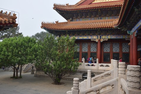 Tour of China - Beijing Summer Palace courtyard