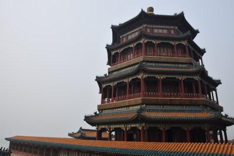 Tour of China - Beijing Summer Palace Yu Feng pagoda