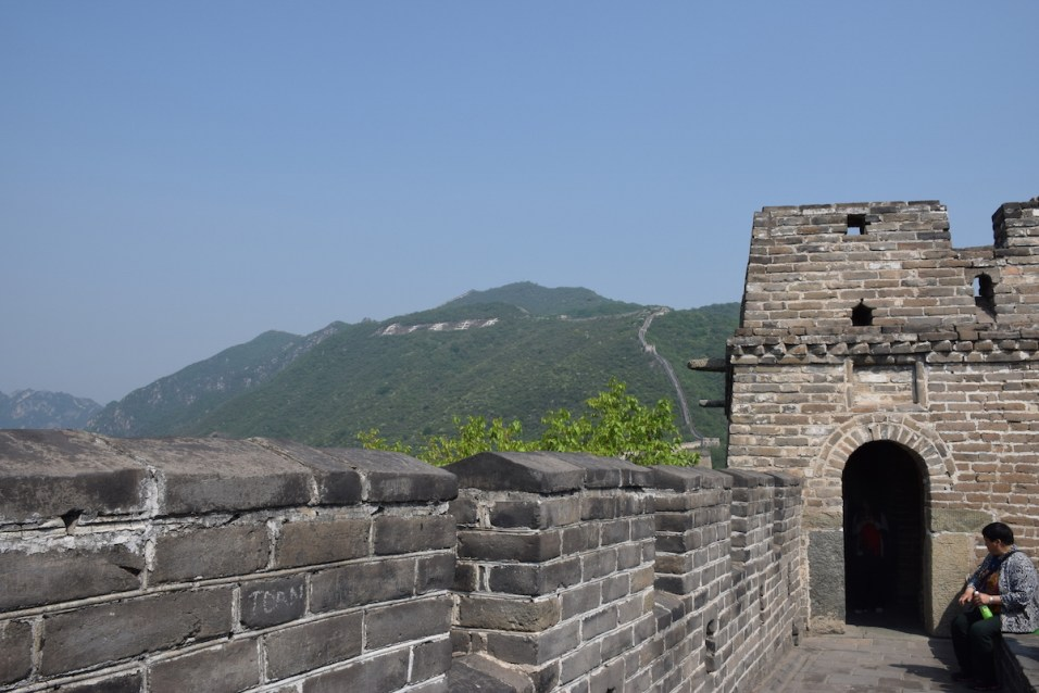 Tour of China - Beijing China Great Wall at Mutianyu 2