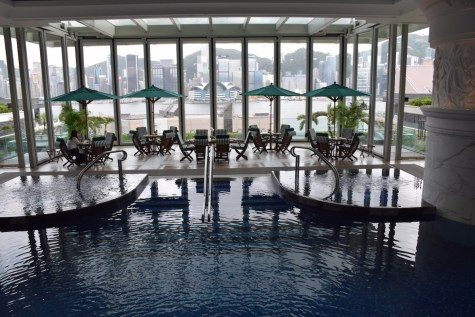 Peninsula Hong Kong - Indoor pool