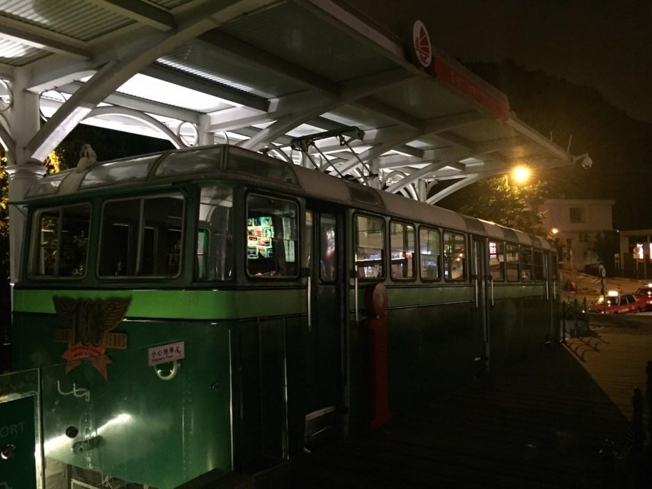 Hong Kong - Train at the Peak