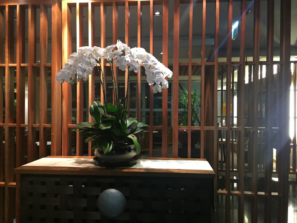 Royal Orchid Spa - Welcome flower