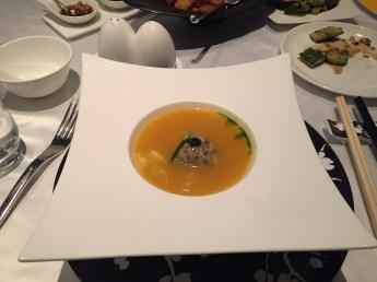 The Mira Hong Kong - Cuisine Cuisine signature soup