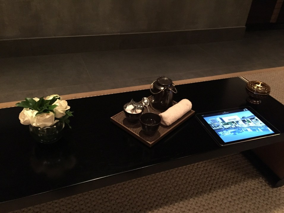 Peninsula Paris Spa - Welcome amenities