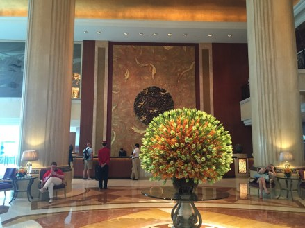 Shangri-La Singapore - Tower Wing lobby