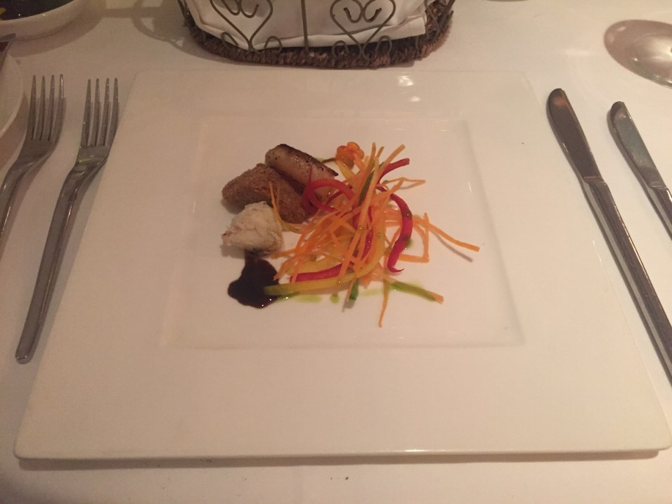 St Regis Singapore - Labrezza restaurant Hokkaido scallops
