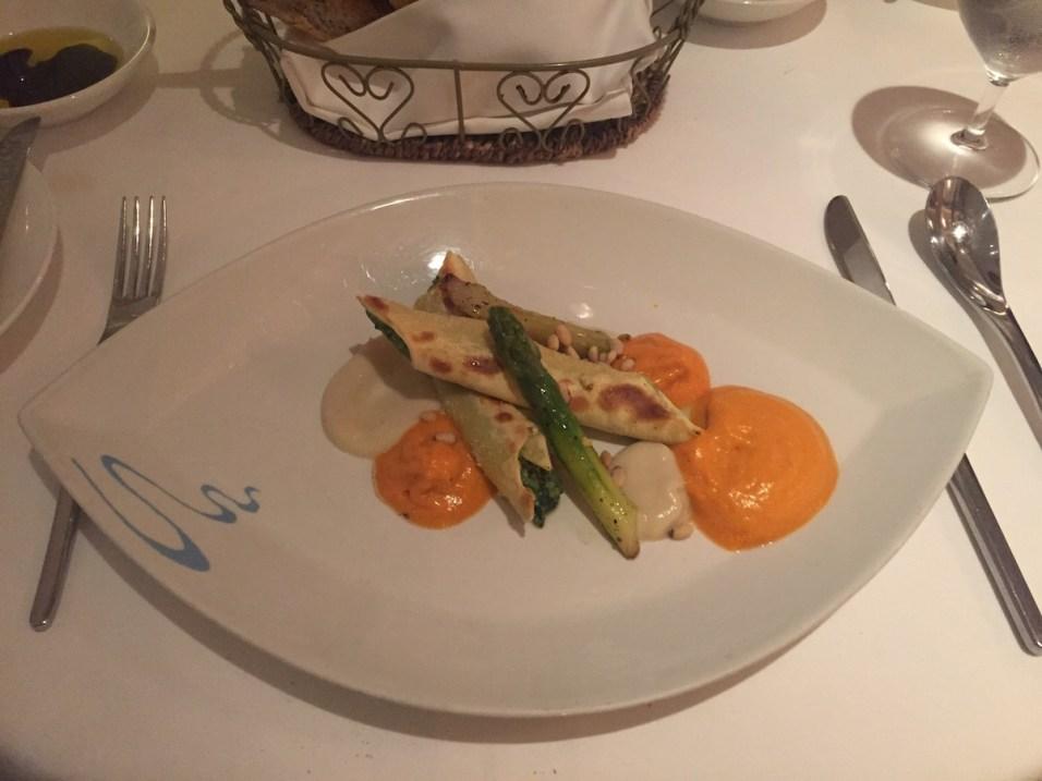 St Regis Singapore - Labrezza restaurant vegetable cannelloni