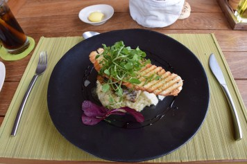 Six Senses Con Dao - By The Beach Restaurant risotto with fish of the day