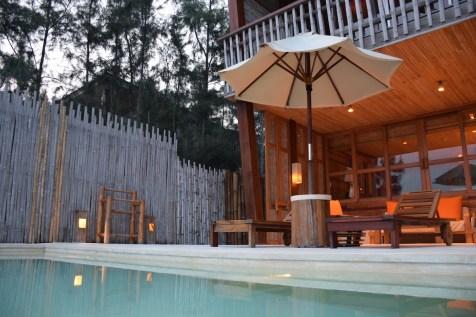 Six Senses Con Dao - Ocean View Duplex Pool Villa by sunset