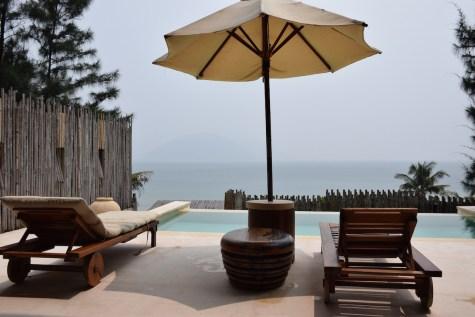 Six Senses Con Dao - Ocean View Duplex Pool Villa terrace