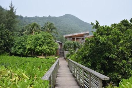 Six Senses Con Dao - Bridge to reception and restaurants