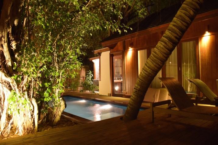 An Lam Saigon River - Riverfront Pool villa by night