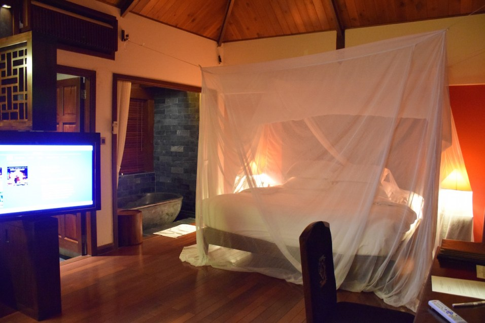 An Lam Saigon River - Riverfront Pool Villa bedroom