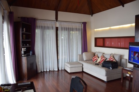 An Lam Saigon River - Riverfront Pool Villa living room