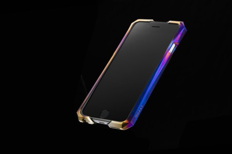 Advent by Gray - iPhone 6/6s Aurora case with black rubber